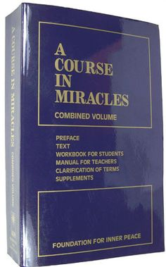 A Course In Miracles: Foundation For Inner Peace: 9781883360269: Amazon.com: Books