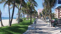 Deerfield Beach Ocean Way, beach streetscape (Deerfield Beach, Florida)
