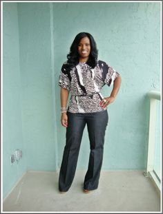 Curves and Confidence | Inspiring Curvy Fashionistas One Outfit At A Time: Not so casual Friday