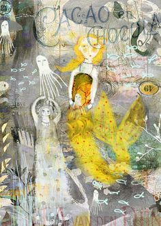 Sarah Kiser / Little Yellow Mermaid