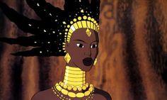 Karaba, the (bad ?) sorceress.