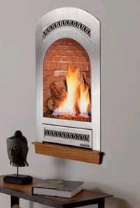 Bed and Breakfast fireplace from Fireplace Xtrordinair - the portrait-style gas fireplace