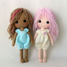 Gingermelon Dolls: My Felt Doll Knitted Outfit Patterns