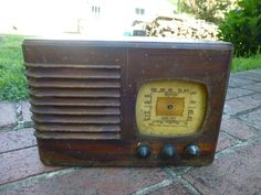 Vintage 1938/39 Emerson BF 204 Shortwave Tube Radio Parts Repair