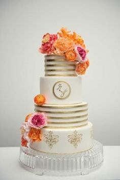 Wedding Cake Inspiration - Photo: Carla Ten Eyck