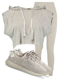 A fashion look from December 2015 featuring long sleeve crop top, white leggings and adidas originals shoes. Browse and shop related looks. Chill Outfits, Outfits For Teens, Sport Outfits, Summer Outfits, Cute Outfits, Pastel Outfit, Tween Fashion, Daily Fashion, Fashion Outfits