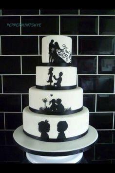 For a high school sweetheart wedding