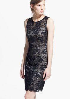 Kanten jurk
