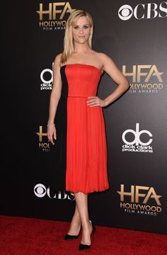 Reese Witherspoon at 2014 Hollywood Film Awards on November 14, 2014.