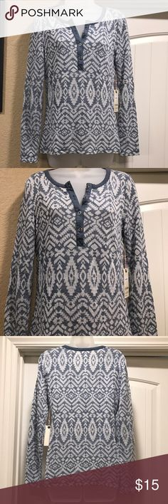 Dylan by True Grit top size small Brand new with tags. Very cute! Dylan True Grit Tops Tees - Long Sleeve