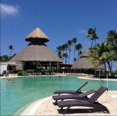 Catch some morning rays by the pool at Now Larimar Punta Cana!