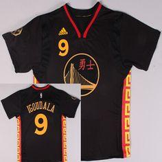... Golden State Warriors 9 Andre Iguodala Revolution 30 Swingman 2015  Chinese Black Fashion Jersey ... eb7ab6474
