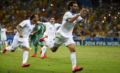Mundial 2014. Grecia 2-1 Costa de Marfil.