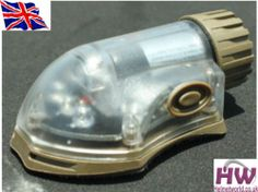 AIRSOFT LIGHT FLASHLIGHT IR RED HELMET MANTA STROBE TAN SAND DE UK | eBay