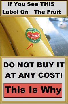 Most of us don't know that the stickers attached to the fruits and vegetables are there for more than just scanning the price.
