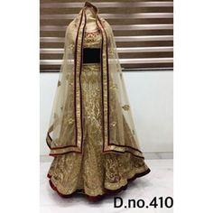 Exclusive Bridal Designer Lehenga ( D.No.410 )