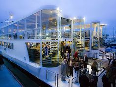 Electra Cruises in Newport Beach. See prices and detailed info for beautiful, unique Orange County wedding reception venues. Boat Wedding, Yacht Wedding, Beach Wedding Reception, Dream Wedding, Wedding Ideas, Sunset Wedding, Nautical Wedding, Wedding Ceremony, Wedding Stuff