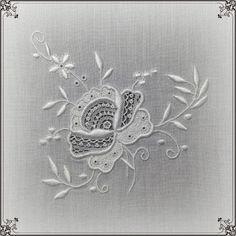*Au point du plaisir* embroidery