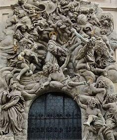 Doorway in Prague.