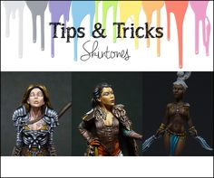 Painting skintones: Paints, tips & tricks | MaGie Miniature Painting