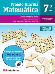 Projeto Araribá Matemática 7º ano - Editora Moderna - PNLD 2014