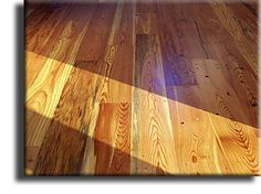 Rustic Cabin Grade Of Antique Heart Pine Flooring