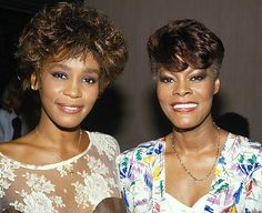 Dionne Warwick and Whitney Houston cousins.