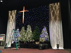 Angela Yee - Christmas stage design