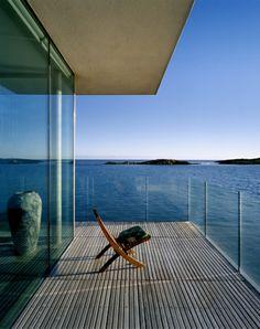 Wonderful Seaside House by De Blacam and Meagher Architects Sweet Home Design, Dream Home Design, My Dream Home, House Design, Outside Living, Outdoor Living, Dublin House, House By The Sea, Ideas Hogar