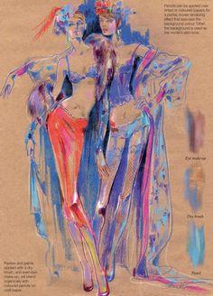 Fashion illustration - Anna Kiper - Fashion Illustration: Inspiration and Technique