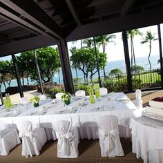 Prince Resorts Hawaii - Hawaii Venues - Outdoor beach wedding reception venue with ocean views