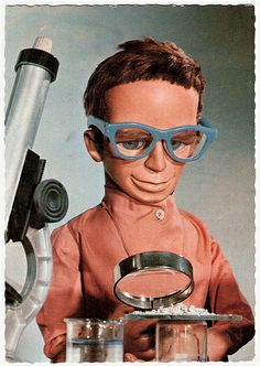Thunderbirds, Brains, inventor of International Rescue. Radios, Science Fiction, Joe 90, Thunderbirds Are Go, Cult, Cinema, Vintage Tv, Kids Shows, Classic Tv