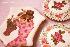 Dolce Sentire {Galletas decoradas}: Decorando galletas con papeles comestibles {Foto Tutorial}