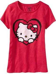 Part of Kat's daily Hello Kitty wear.
