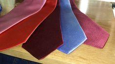 Gran variedad en corbatas.