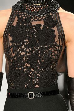 What a beautiful lace work! by Elie Tahari I love lace since I was a little girl!