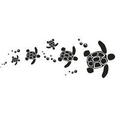 Turtle tattoo... Love the bubbles the turtles need to be like the honu ones I like.