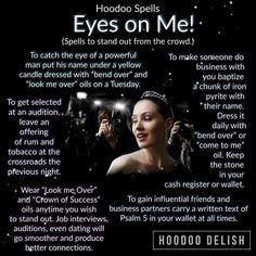 Eyes on me spell