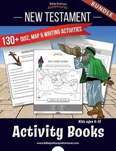 BUNDLE: New Testament Quizzes Fish Activities, Bible Activities, Bible Heroes, Bible Quiz, New Testament Bible, Bible Mapping, Bible Resources, Sunday School Teacher, Fun Worksheets