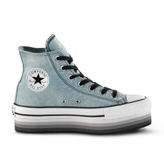 converse donna all star hi platform