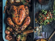 Geroosterde masala-hoender | rooi rose South African Recipes, Ethnic Recipes, Tandoori Chicken, Chicken Recipes, Turkey, Dishes, Meat, Afrikaans, Kos