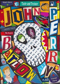 John Perry Barlow 123114  Last Collage of the Year