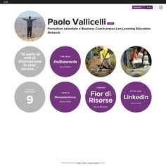 Graphical bio: Paolo Vallicelli