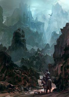 'Dark Castle' by David S. Hong
