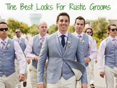 Looks For Rustic Groom