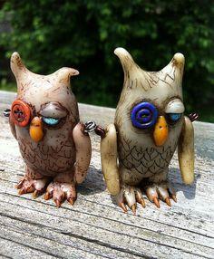 Bedraggled Owls by suzicq, via Flickr