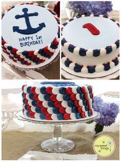 Nautical Cake Inspirations Ideas Sailor Cake and Beach