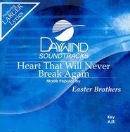 Heart That Will Never Break Again, Accompaniment CD
