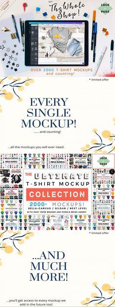 Whole Shop T-Shirt Mockup Bundle #psd #template #mockupsformen #promo #fashionmockups #photoshop #vneckmockups #whitebackgroundmockup #templates #tshirtmegabundle #fly #beachmockups #tshirtmockups #websitetemplate #social #card #tropical #boxes #pat Shirt Template, Shirt Mockup, Different Styles, Save Yourself, Templates, Invitation Mockup, T Shirt, Bella Canvas, Counting