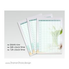 Self Efficiency, Self Organization Time Management. Light Blue Weekly Agenda Printable, Floral Color Weekly Agenda A4 pdf, Weekly Schedule A4 pdf, Hourly Printable Weekly Scheduler Digital Download.